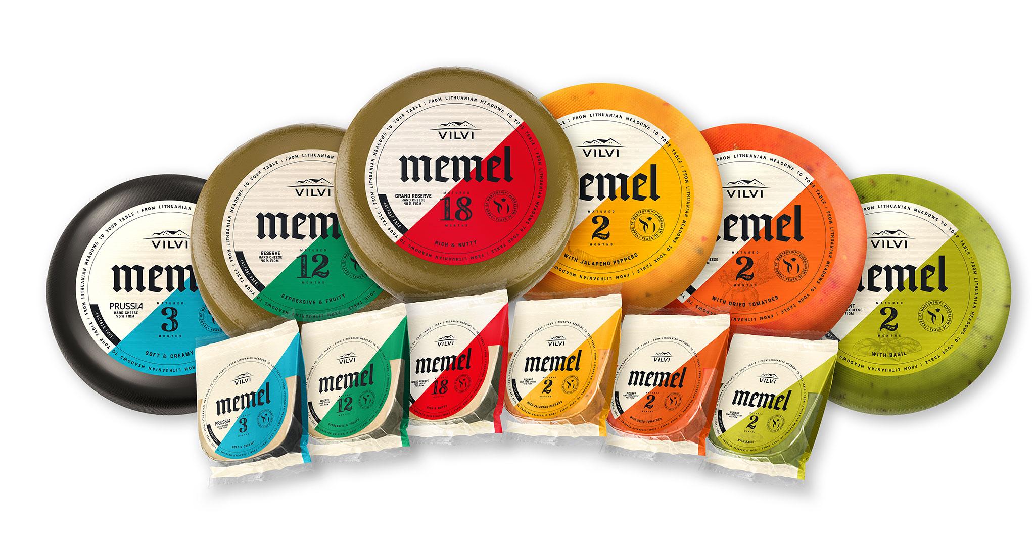 Memel sūrių linijos kompozicija